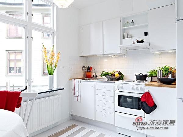 简约 一居 厨房图片来自用户2739081033在阳光女孩4万装扮31平单身公寓47的分享