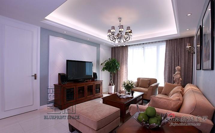 简约 三居 客厅图片来自用户2739378857在80后精装110平甜蜜婚房2居71的分享
