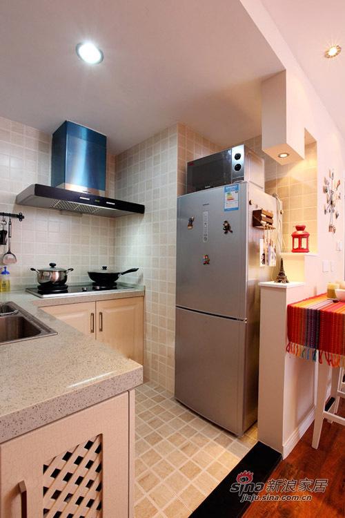 简约 一居 厨房图片来自用户2737786973在62平功能齐全的浪漫mini婚房85的分享