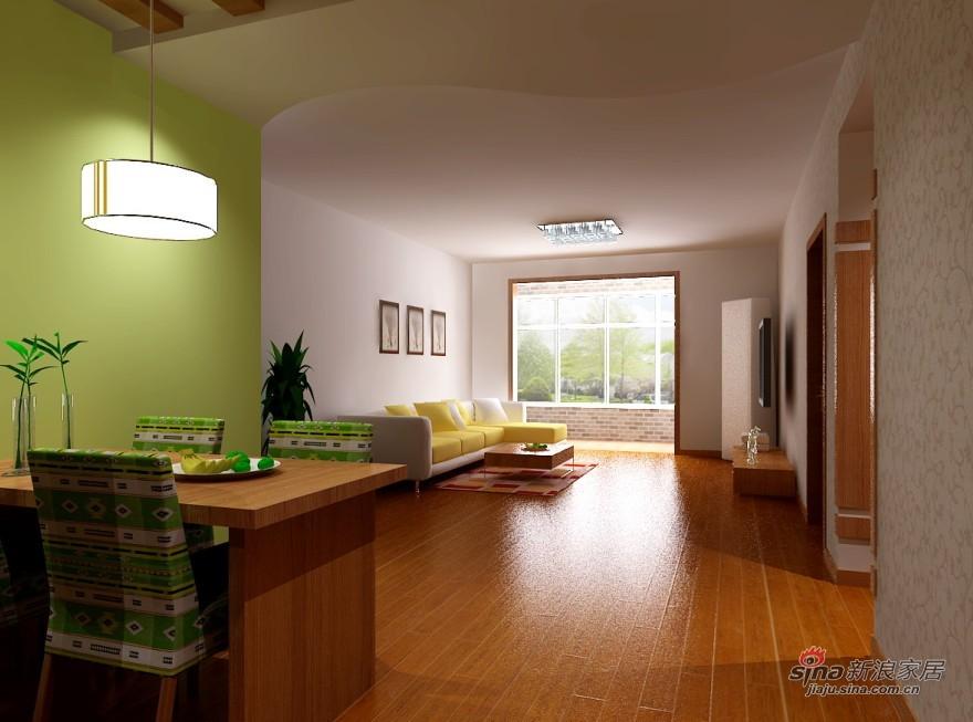 简约 二居 餐厅图片来自用户2738829145在打造现代 一居独特的魅力39的分享