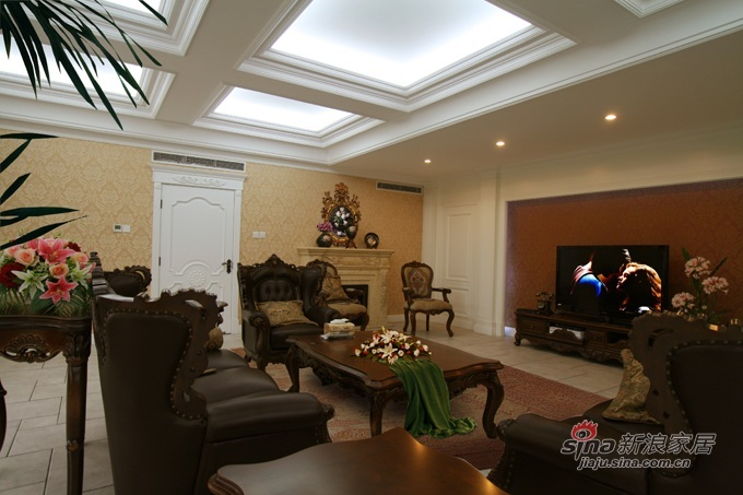 欧式 别墅 客厅图片来自用户2772856065在碧水庄园A2户型—贵族的享受57的分享