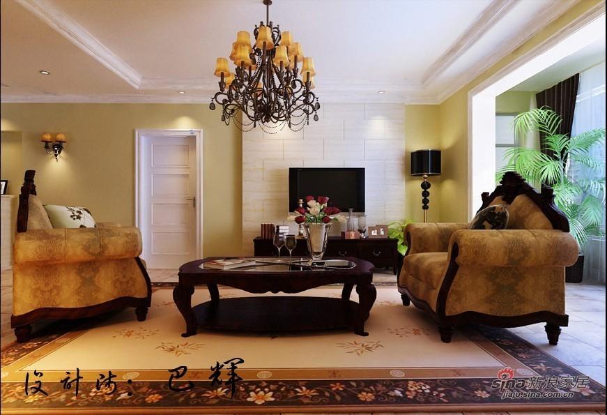 地中海 二居 客厅图片来自用户2757320995在100平米新浪漫爱情海家居24的分享