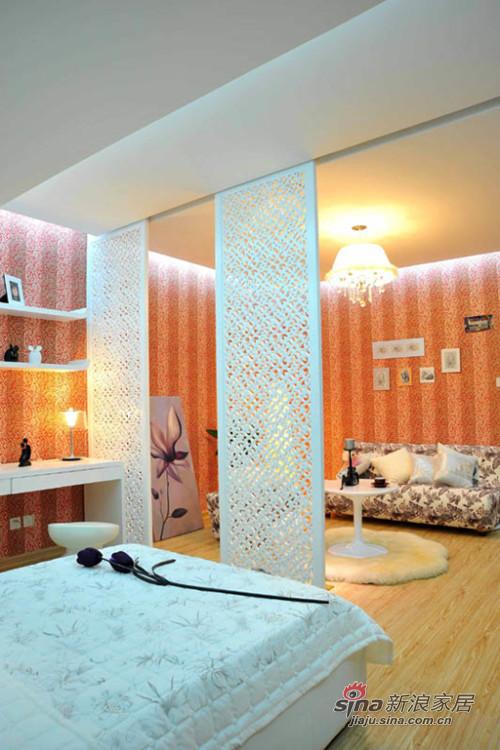 欧式 公寓 卧室图片来自用户2746953981在43平神奇欧式豪宅56的分享