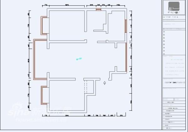 圣鑫苑的100平米的两房两厅