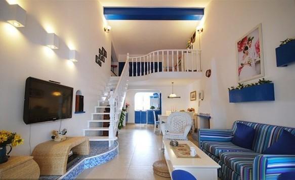地中海 二居 客厅图片来自用户2757320995在120平95的分享