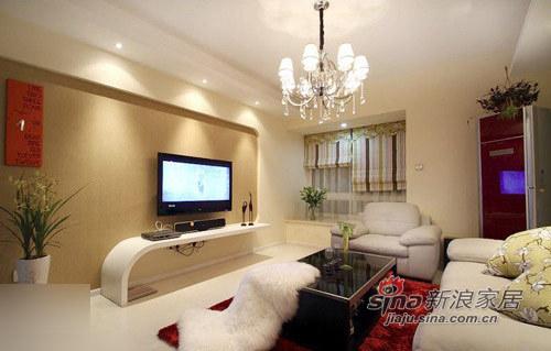 简约 一居 客厅图片来自用户2737786973在7万大包105平简约时尚靓家16的分享