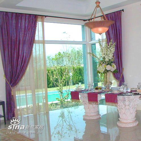 简约 别墅 餐厅图片来自用户2739081033在上海佘山花园68的分享