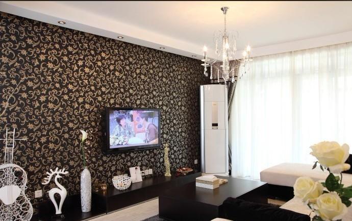 简约 二居 客厅图片来自用户2738820801在80后夫妻90平老房改造 简约大方46的分享