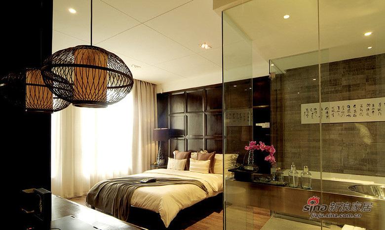 混搭 二居 卧室图片来自用户1907655435在【高清】11万营造87平清宫混搭风情居65的分享