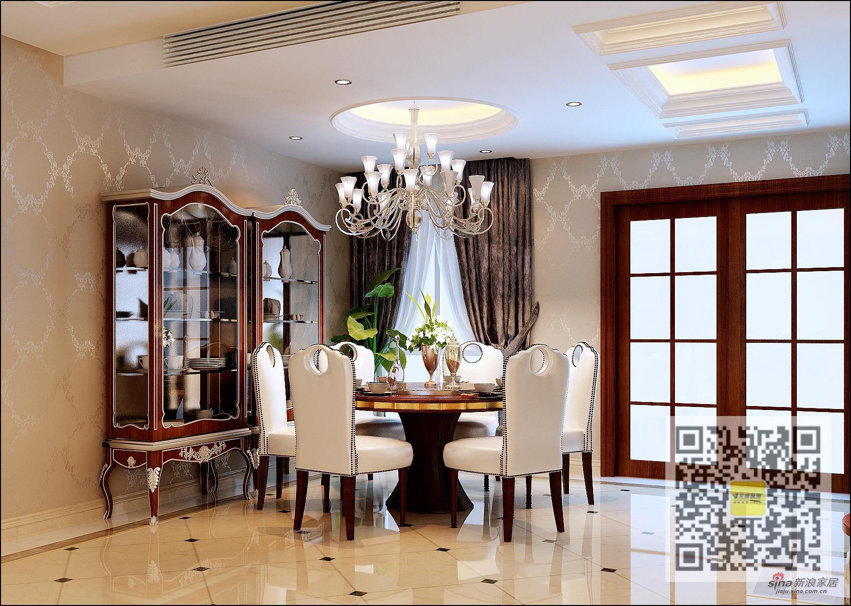 欧式 别墅 餐厅图片来自用户2746869241在欧式风格别墅设计76的分享