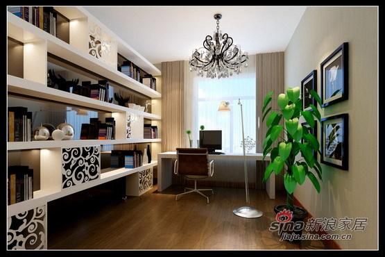 简约 三居 书房图片来自用户2737786973在乐家装饰新榆公馆3居现代生活体现84的分享
