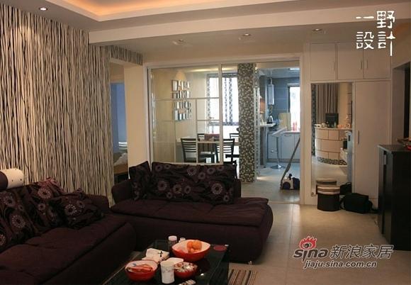 简约 三居 客厅图片来自用户2738829145在10万全包装92平橙彩小屋67的分享