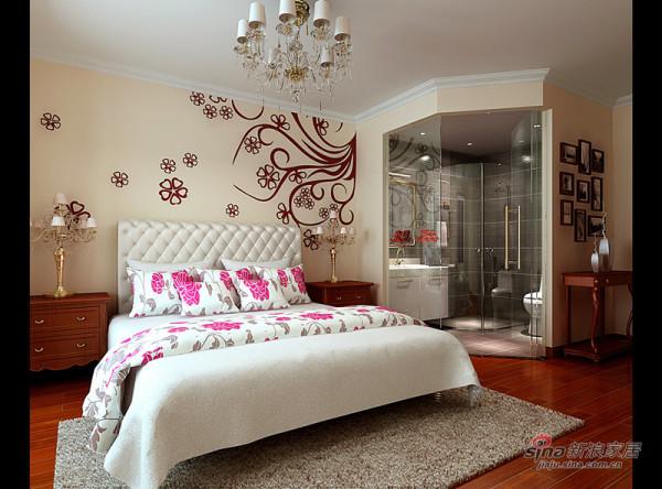美艳婚房的卧室大气设计