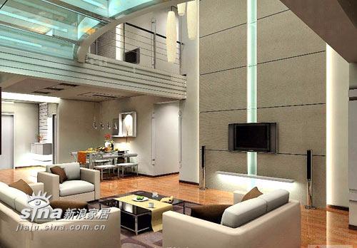 其他 复式 客厅图片来自用户2558757937在复式家居样板间23的分享