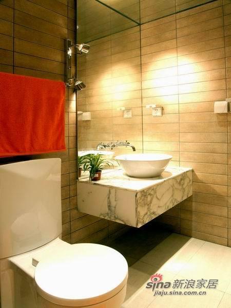 现代 三居 卫生间图片来自佰辰生活装饰在9万装100平简约而又温馨家30的分享