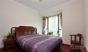 中式 二居 卧室 屌丝图片来自家装大管家在【高清】老年夫妻60平中式古韵居29的分享