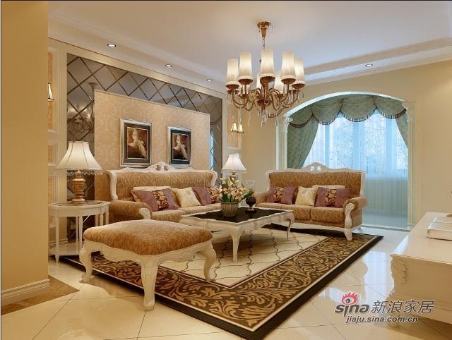 简约 二居 客厅图片来自用户2739153147在100平欧式华丽设计86的分享