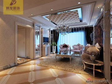 金融街中心三居室欧式风格设计62