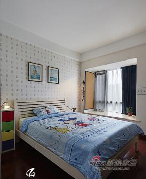 现代 三居 儿童房 舒适图片来自装修微日记在【高清】8万营造106平现代时尚婚房81的分享