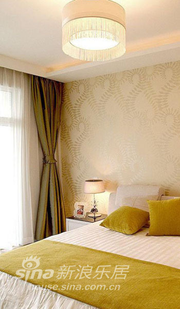 简约 三居 卧室图片来自用户2557010253在小夫妻携手打造色调明快品位家44的分享