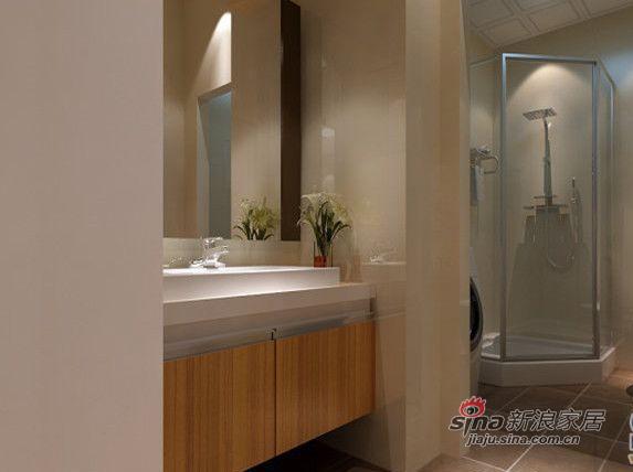 简约 三居 卫生间图片来自用户2738829145在复地东湖国际三居室简约风格78的分享