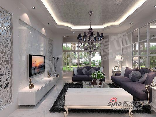 简约 二居 客厅图片来自阳光力天装饰在大气典雅型完美布置方案62的分享