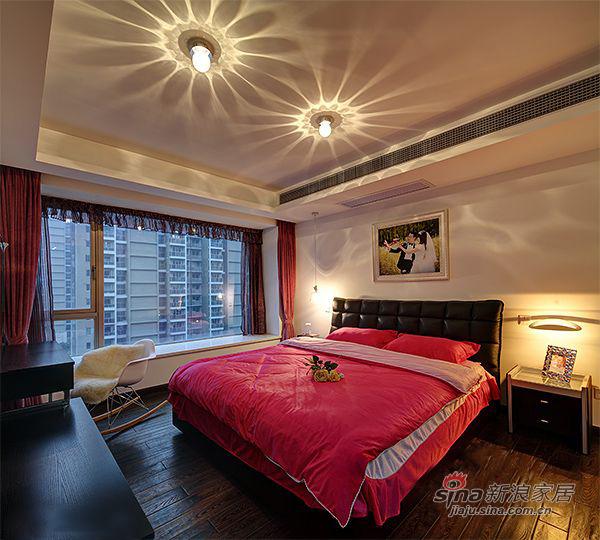 简约 三居 卧室图片来自装修微日记在【高清】9万打造138平简约大气时尚之家80的分享