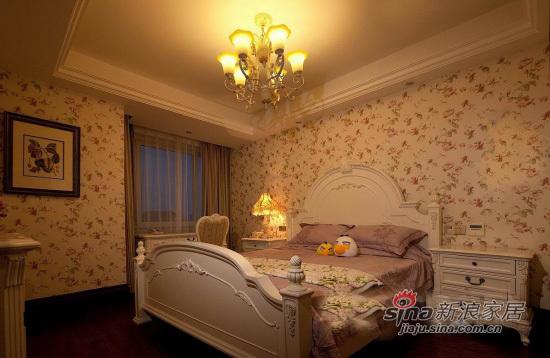 北欧 复式 卧室图片来自用户1903515612在奢华尽享350平大气北欧复式居21的分享