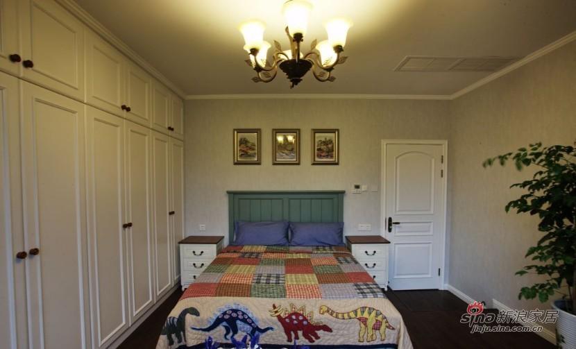 美式 复式 儿童房图片来自家装大管家在【高清】135平大气美式雅致之家86的分享