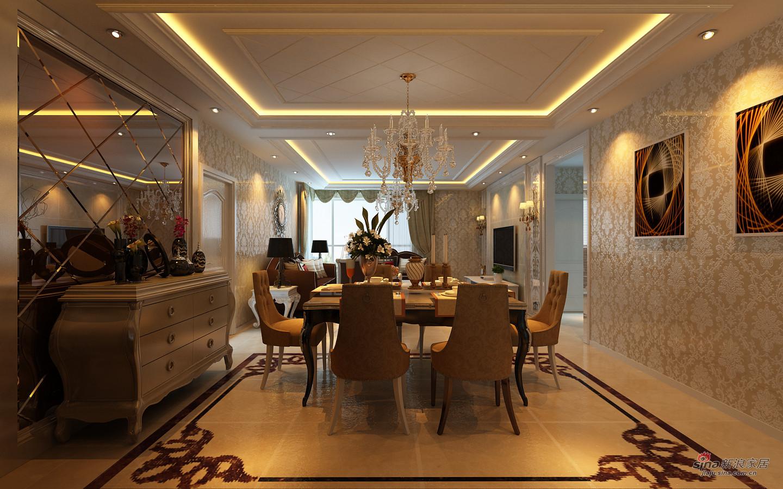 欧式 其他 餐厅图片来自用户2745758987在【高清】152平惬意浪漫家居生活85的分享