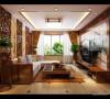 80平新中式风格两居
