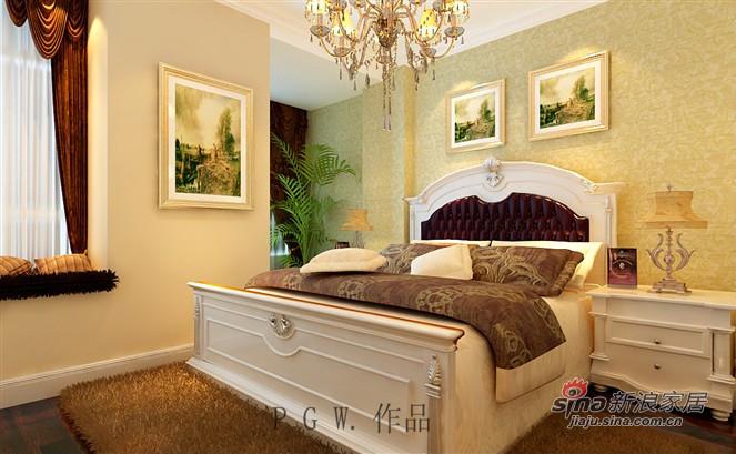 欧式 三居 卧室图片来自用户2772873991在决定不容错过的简欧风格三居室55的分享