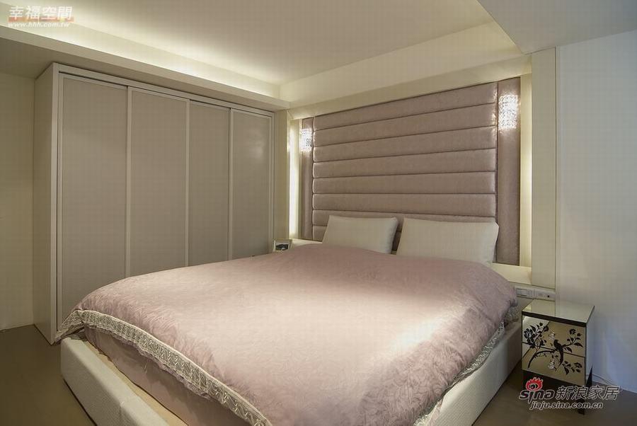 新古典 一居 卧室图片来自幸福空间在73平单身公寓展现东方华丽72的分享