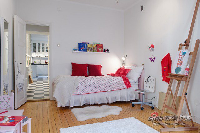 北欧 三居 卧室图片来自用户1903515612在绅士男136平高品味明亮公寓85的分享