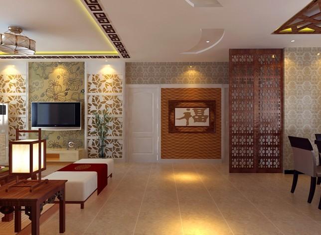 中式 三居 客厅图片来自用户1907661335在4.86万 完美打造135平现代中式33的分享
