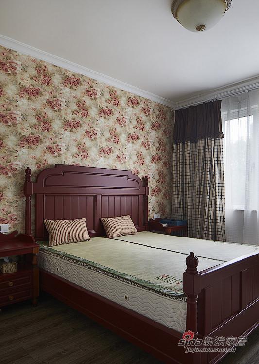 地中海 三居 卧室图片来自用户2757320995在【高清】夫妻150平地中海浪漫3居室54的分享