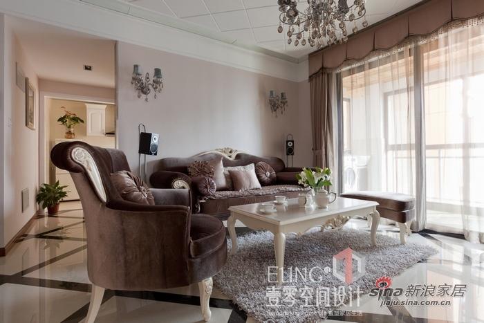 混搭 三居 客厅图片来自用户1907691673在东湖复地110平实景2居77的分享