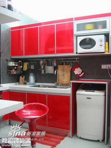 简约 一居 厨房图片来自用户2738813661在44平米的错层你见过吗?19的分享