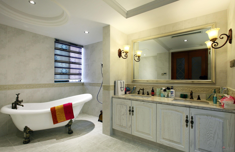 欧式 别墅 卫生间图片来自用户2772856065在【高清】380平跃层新古典大豪宅86的分享