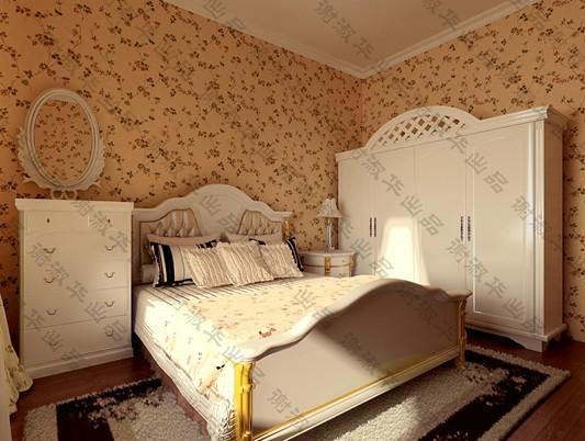 欧式 别墅 卧室图片来自用户2745758987在低调奢华 永恒的传奇69的分享