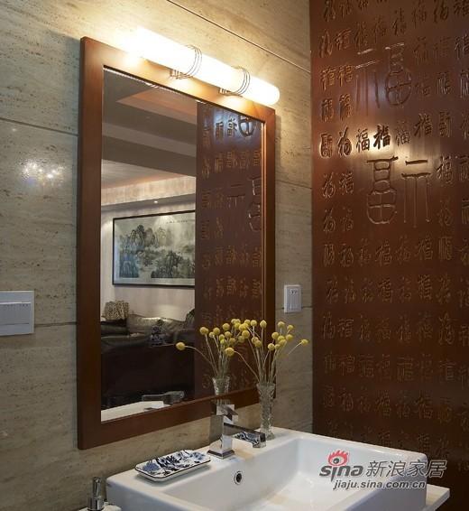 中式 三居 卫生间图片来自用户1907658205在【高清】9万营造107平新中式儒雅居29的分享