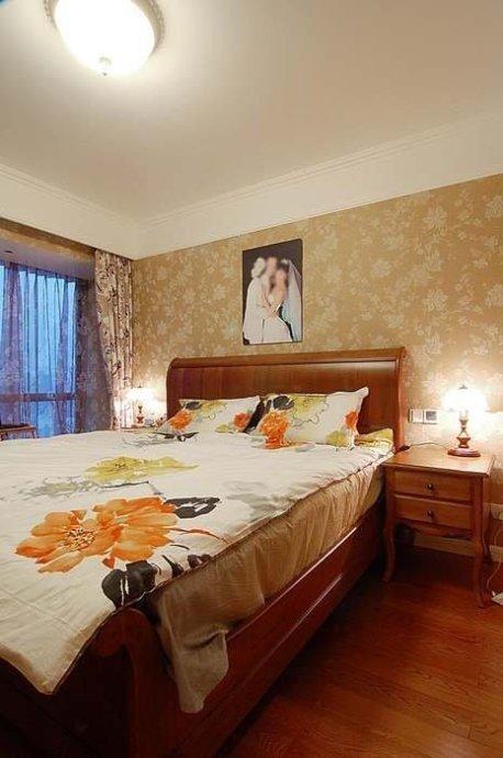 简约 三居 卧室图片来自用户2738845145在15万装146㎡简欧混搭婚房82的分享
