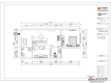 红星国际-跃层三室一厅一厨两卫-雅致主义75