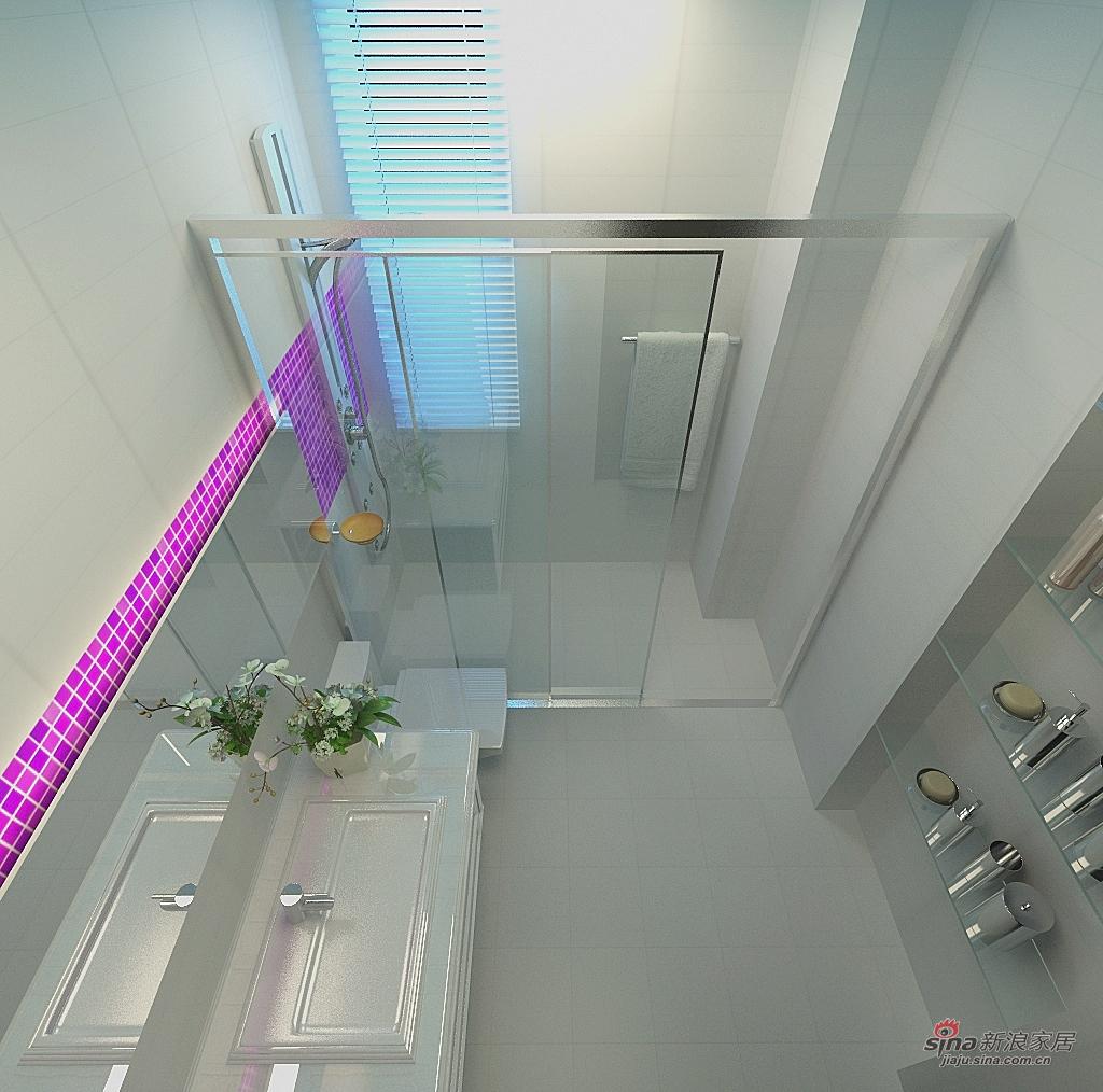 其他 三居 卫生间图片来自用户2558746857在紫色典雅家装三居室89的分享