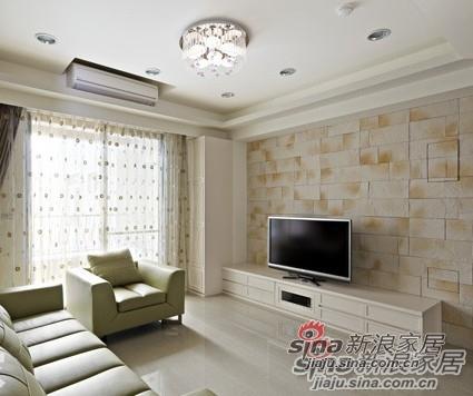简约 三居 客厅图片来自用户2737735823在6.1万魅装110平纯净3居家38的分享