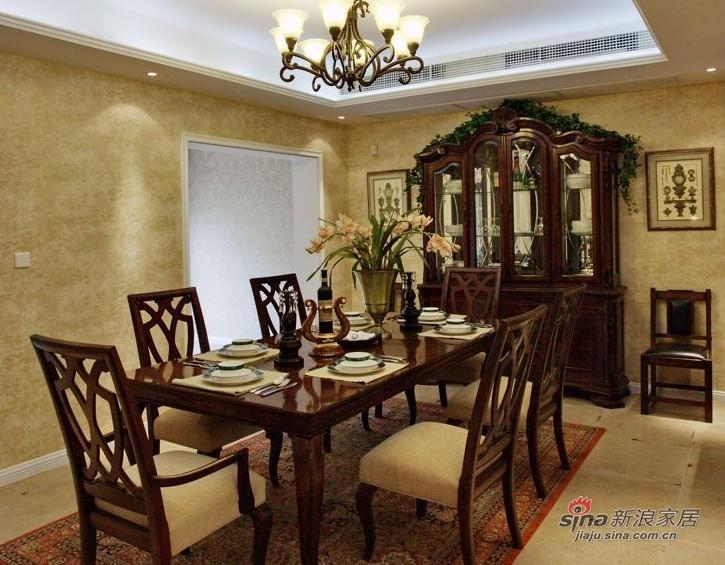 美式 复式 餐厅图片来自家装大管家在【高清】135平大气美式雅致之家86的分享