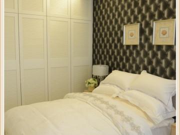 【多图】84平时尚黑白简约两居室36