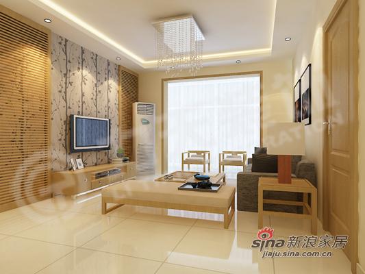简约 三居 客厅图片来自阳光力天装饰在温馨简约家居88的分享