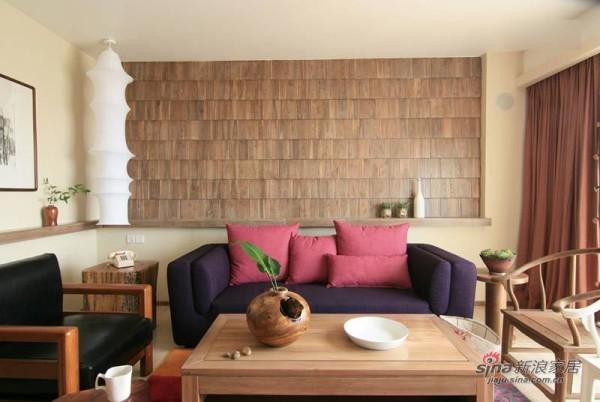 2年DIY自装123平实木3居室