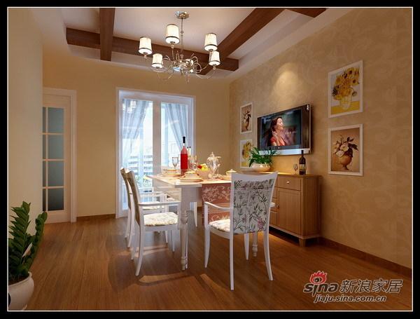 其他 三居 餐厅图片来自用户2737948467在顺义新城古典简约风格46的分享